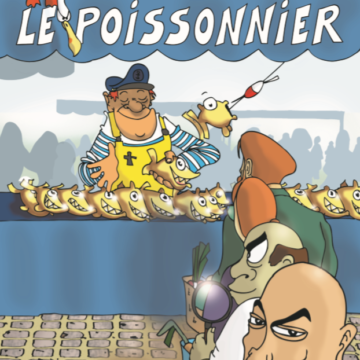 Carte postale aimantée – Le Poissonnier