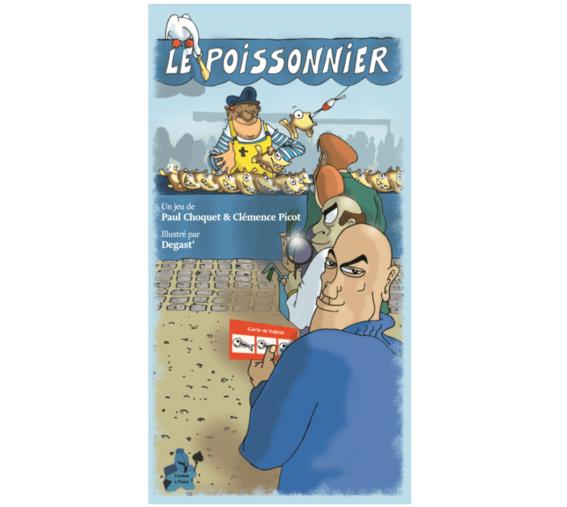 Boite jeu de société Le Poissonnier