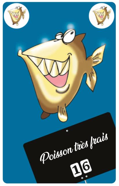 Poisson très frais le poissonnier