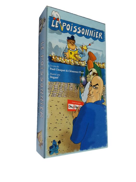 eu de société Le Poissonnier, le jeu où vous incarnez un poissonnier sur un marché aux poissons