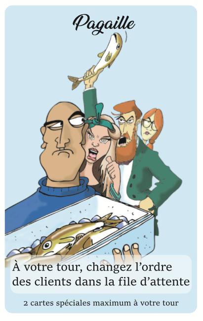 Carte spéciale pagaille le poissonnier