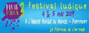 Le Poissonnier sera présent ce 4 et 5 mai 2019 à Pluie D'Jeux !