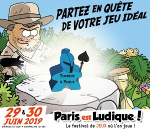 Le Poissonnier sera présent ce 29 et 30 juin 2019 à Paris est Ludique !