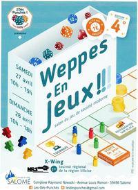 Le Poissonnier sera présent ce 27 et 28 avril 2019 à Weppes en Jeux !