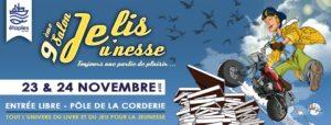 Le Poissonnier sera présent ce 23 et 24 novembre 2019 à Je Lis Jeu'Nesse !