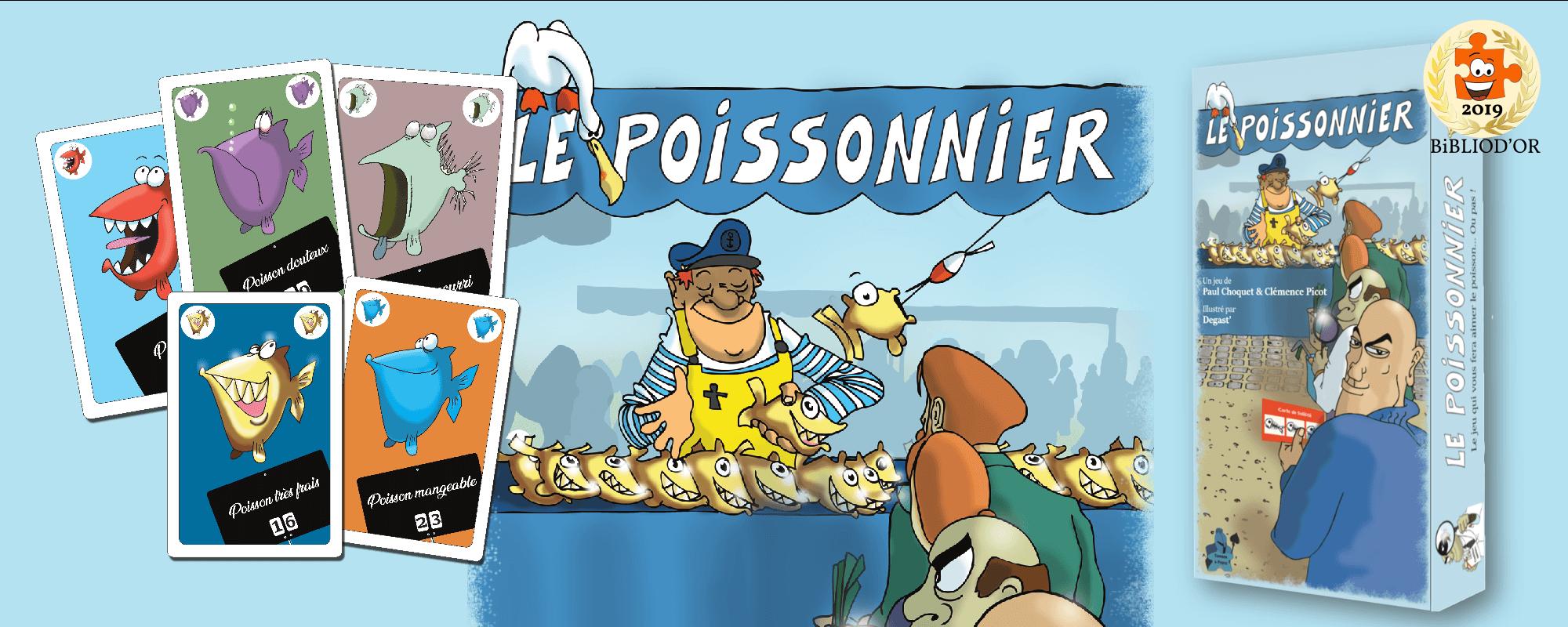 Le Poissonnier, meilleur jeu de société avec des poissons