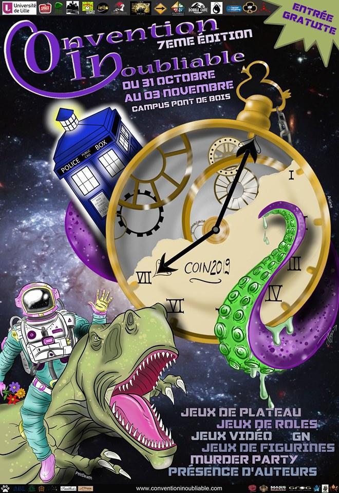 Le Poissonnier sera présent ce 2 et 3 novembre à la COnvention INoubliable !