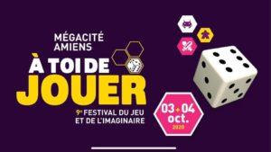 Le Poissonnier sera présent ce 3 et 4 Octobre 2020 au festival A Toi de Jouer à Amiens !