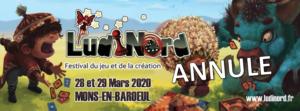 [ANNULE] Le Poissonnier sera présent ce 28 et 29 Mars 2020 à LudiNord !