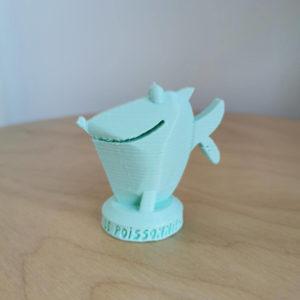 Jeton 1er joueur imprimé en 3D